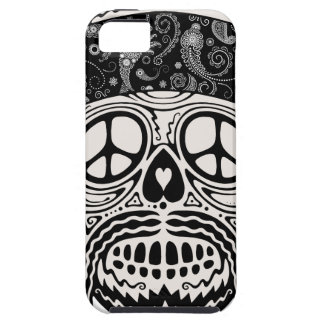 Peaceful Paisley Skull iPhone 5 Cases