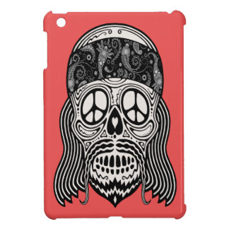 Peaceful Paisley Skull Cover For The iPad Mini