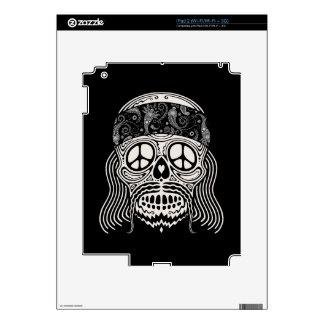 Peaceful Paisley Skull iPad 2 Skins