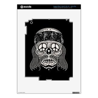 Peaceful Paisley Skull iPad 3 Decals