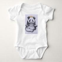 Peaceful Panda Body Suit Baby Bodysuit