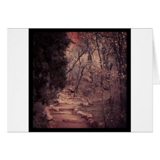 Peaceful Path Card