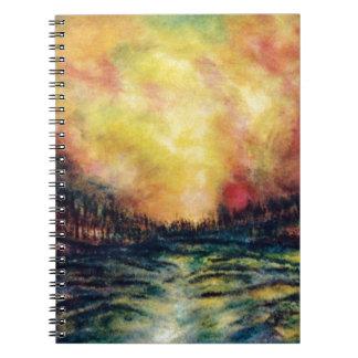 Peaceful Path Notebook