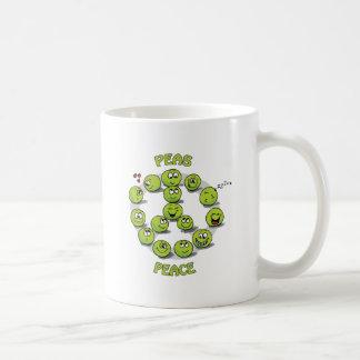Peaceful Peace Classic White Coffee Mug