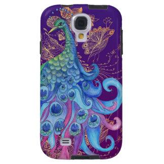 Peaceful Peacock Galaxy S4 Case