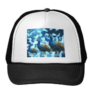 Peaceful Peacocks Trucker Hat