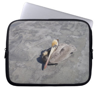 Peaceful Pelican Laptop Sleeve