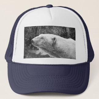 Peaceful Polar Bear Trucker Hat