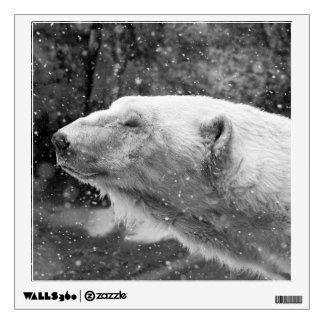 Peaceful Polar Bear Wall Decal
