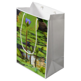 Peaceful Pond Water Lily Gift Bag