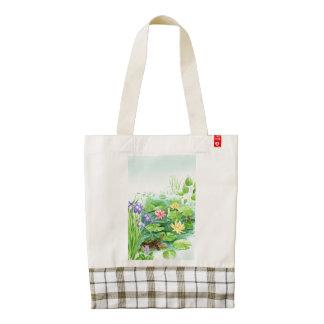 Peaceful Pond Zazzle HEART Tote Bag