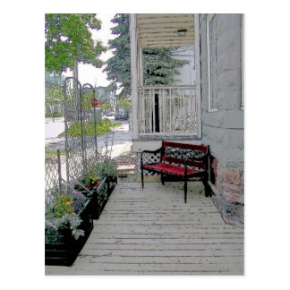 Peaceful Porch Postcard