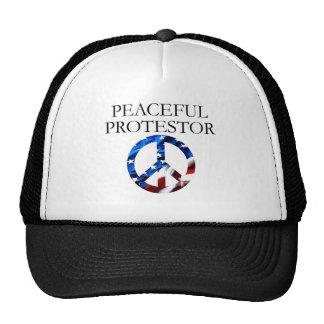 Peaceful Protestor Trucker Hat