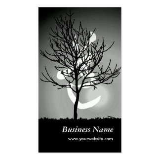 Peaceful Radiance/Tao 道 Harmony Double-Sided Standard Business Cards (Pack Of 100)