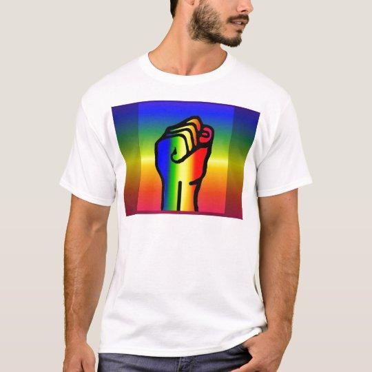 Peaceful rainbow power T-Shirt