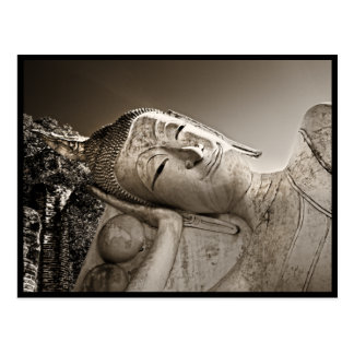 Peaceful Reclining Buddha Postcard