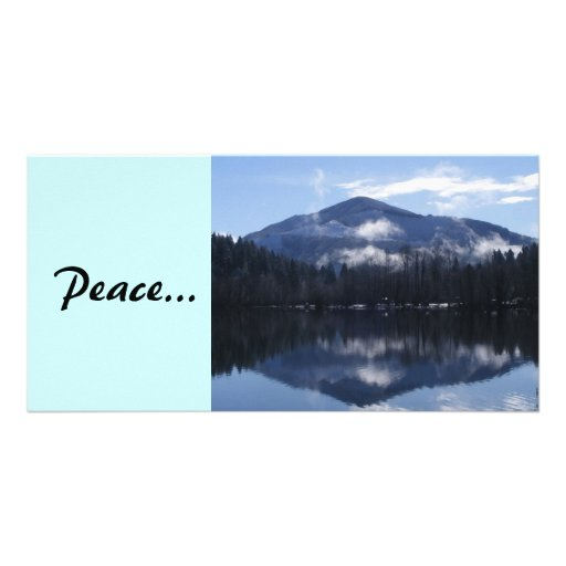 Peaceful Reflection Photo Greeting Card