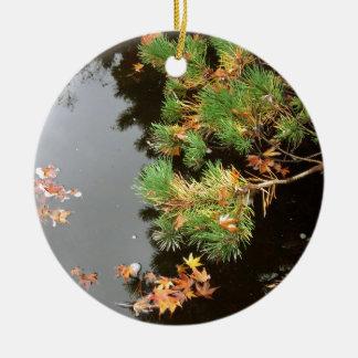 Peaceful reflections yashiro japanese gardens christmas for Japanese pond ornaments