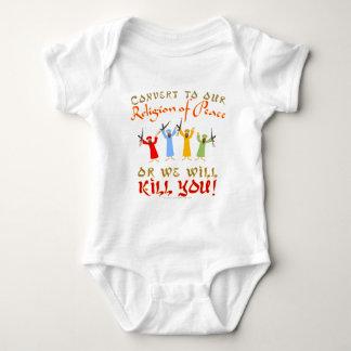 Peaceful Religion Baby Bodysuit