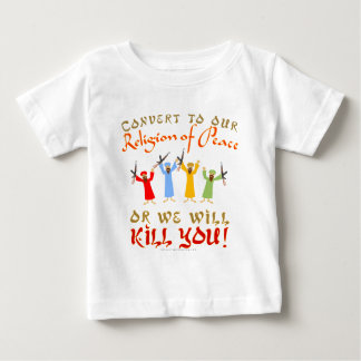 Peaceful Religion Baby T-Shirt