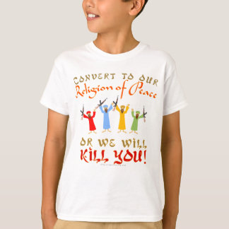 Peaceful Religion T-Shirt