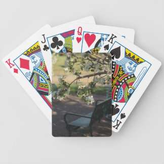 Peaceful Resting Area Bicycle Playing Cards