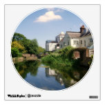 Peaceful River Scene Greetings Card Wall Stickers