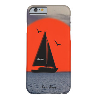 Peaceful Sail Boat Barely There iPhone 6 Case