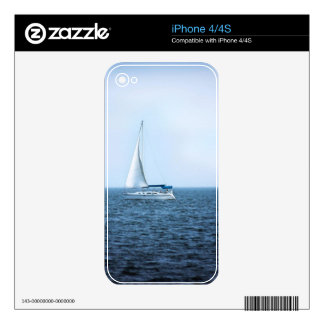 Peaceful Sailing Skin For iPhone 4S