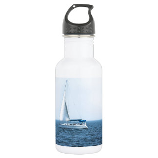 Peaceful Sailing Stainless Steel Water Bottle