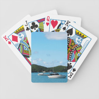 Peaceful Sea St. Thomas Bicycle Playing Cards