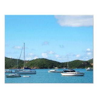 Peaceful Sea St. Thomas Card