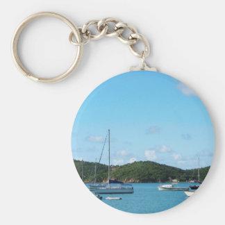 Peaceful Sea St. Thomas Key Chain
