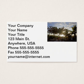 Peaceful Seascape Business Card