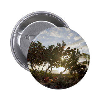 Peaceful Seascape 2 Inch Round Button