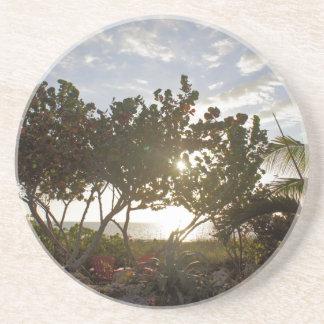 Peaceful Seascape Drink Coaster