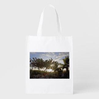 Peaceful Seascape Reusable Grocery Bag