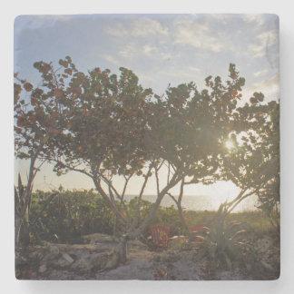 Peaceful Seascape Stone Coaster