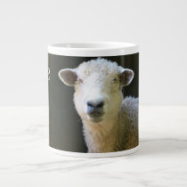 Peaceful Sheep Large Coffee Mug