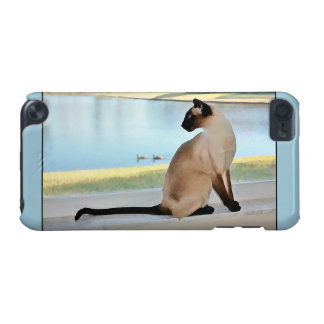 Peaceful Siamese Cat Painting iPod Touch (5th Generation) Cover