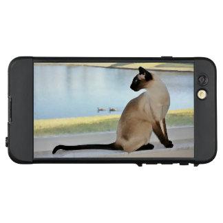 Peaceful Siamese Cat Painting LifeProof® NÜÜD® iPhone 6 Plus Case