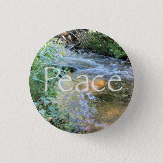 Peaceful Stream Pinback Button