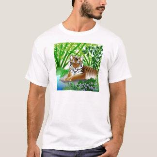 Peaceful Sumatran Tiger T-Shirt