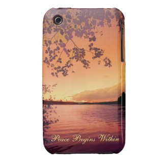 Peaceful Sunset Case iPhone 3 Cover