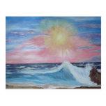 Peaceful Sunset Postcard