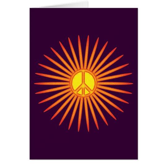 PEACEFUL SUNSHINE CARD
