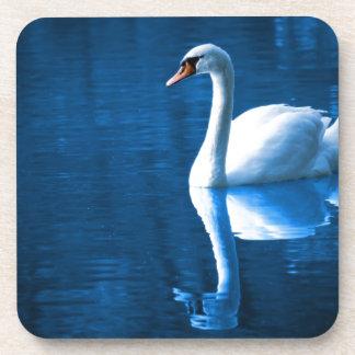 Peaceful Swan Beverage Coaster