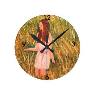 Peaceful thinking clock