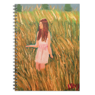 Peaceful thinking spiral notebook