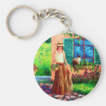 Peaceful Thoughts Key Chains
